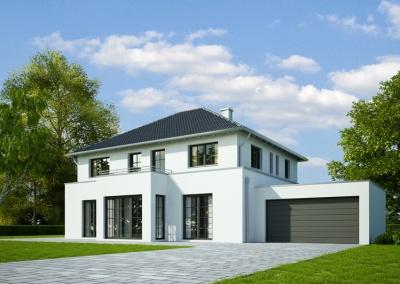 Haus Klassik mit Garage